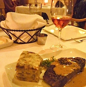 Has really baked new york strip steak HOT! Great ass