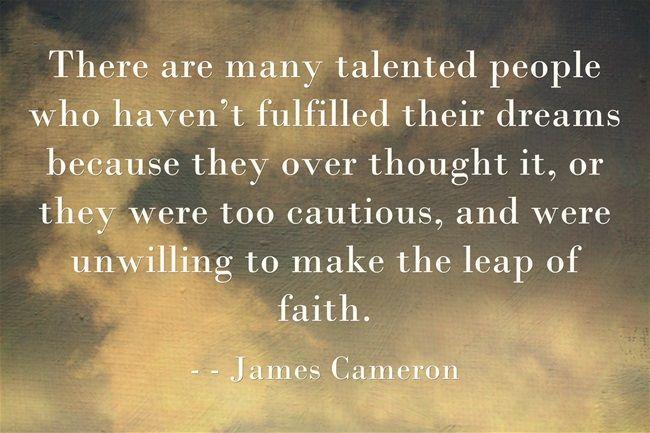 james cameron screenwriting advice quotes