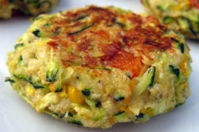 The most delish zucchini cakes ever