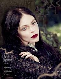 Kinga Rajzak for Vogue Japan, September 2012.