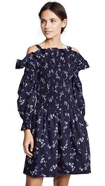 37d9edb016 Rebecca Taylor Off Shoulder Francine Dress