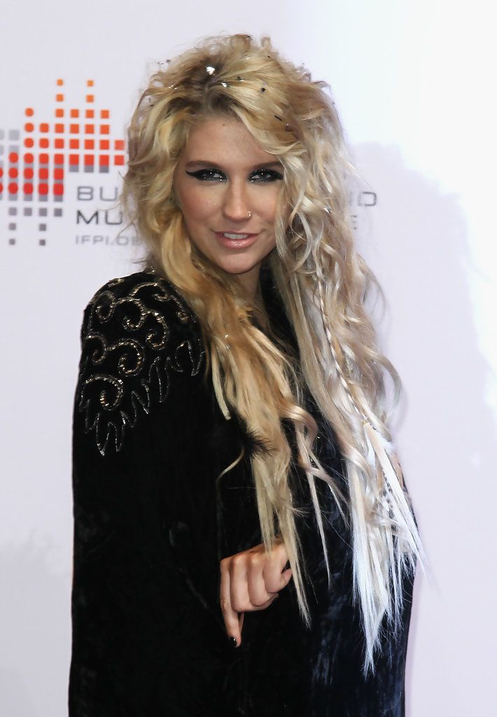 Kesha Long Curls - Kesha Hair - StyleBistro