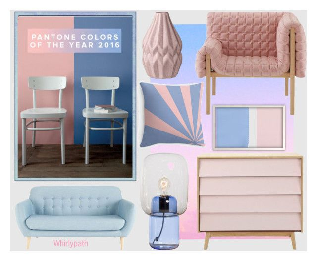 Pantone 2016 Home! by whirlypath on Polyvore featuring interior, interiors, interior design, home, home decor, interior decorating, bedroom and modern