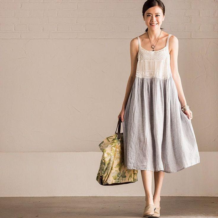 1000  ideas about Linen Dresses on Pinterest - Linen tunic- Shift ...