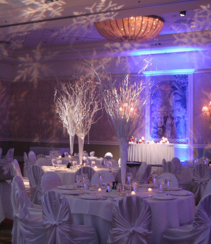 Unique Simple Hall Decoration Ideas: Winter Fantasy Wedding