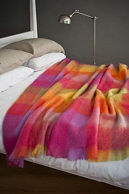 Snuggle up with our Mohair Blankets by alliumwadebridgecornwall