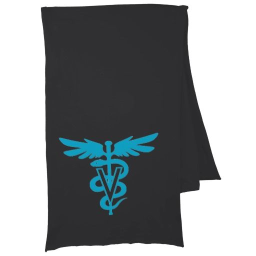 Vet Tech - Veterinary Symbol Scarf Wraps -Remember to give a treat to your Vet & staff this Holiday Season {:-)