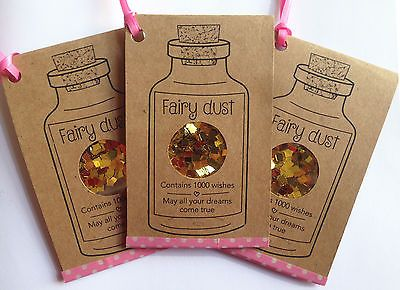 Fairy Dust Keep Sake / Fairy Party Favour / Party bag filler / Stocking Filler