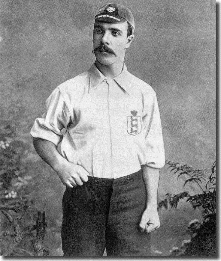 John Goodall, jugador del PRESTON NORTH END y de la Selección Inglesa,1885
