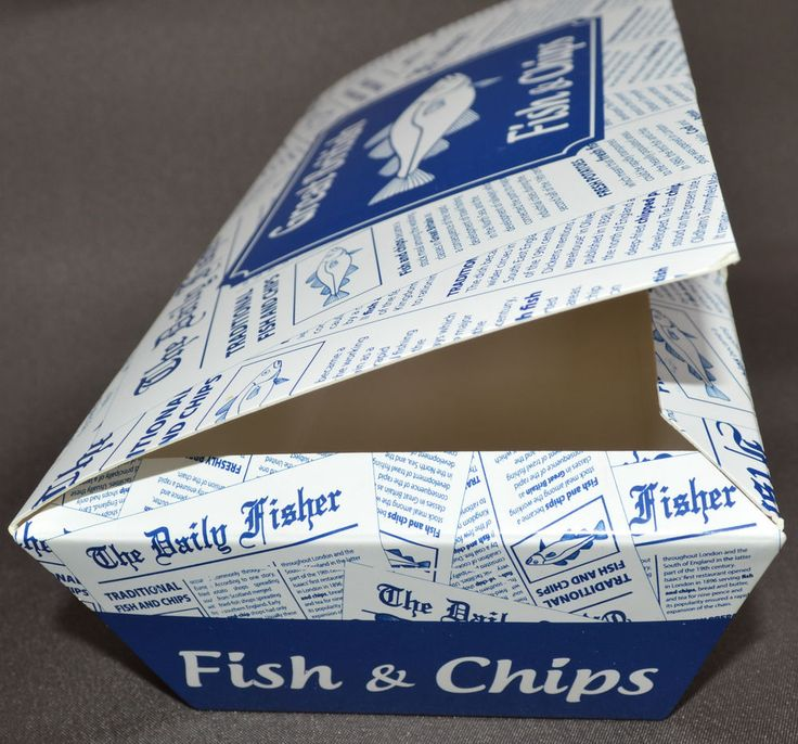 100 LARGE FISH & CHIP SHOP BOX FAST FOOD TAKEAWAY TRAY PACKAGING PARTY BBQ CAFE in Business, Office & Industrial, Restaurant & Catering, Supplies | eBay