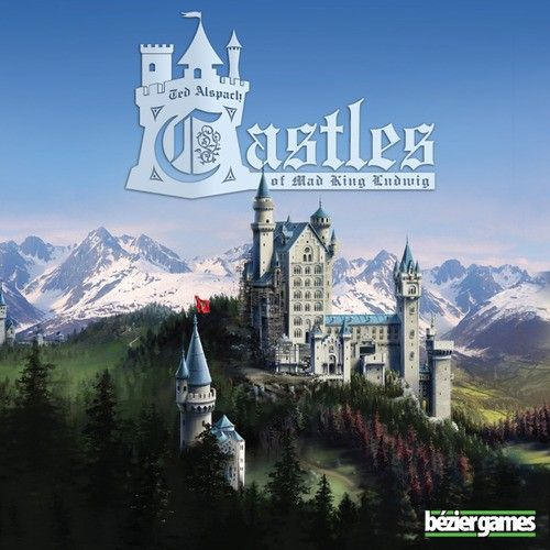 In the tile-laying game Castles of Mad King Ludwig, players are tasked with building an amazing, extravagant castle for King Ludwig II of Bavaria...one room at a time.