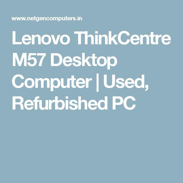 Lenovo ThinkCentre M57 Desktop Computer | Used, Refurbished PC