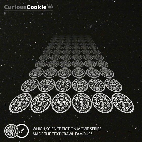 May the Oreos be with you. #Friday #CuriousCookie #Movie