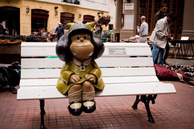 Mafalda in San Telmo, Buenos Aires - Argentina
