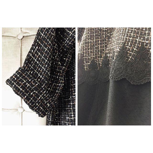 winter abaya details by Nashel