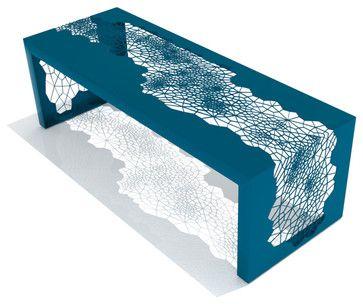 Hive Bench (Medium / Blue) - modern - bedroom benches - Inmod