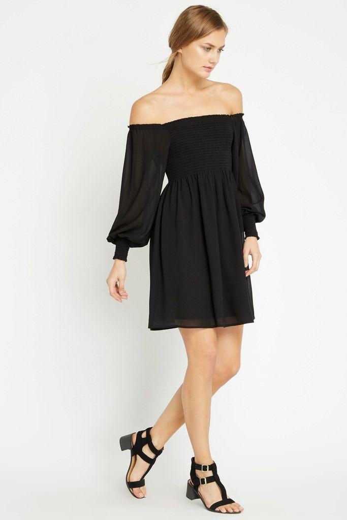 Barett Off the Shoulder Dress