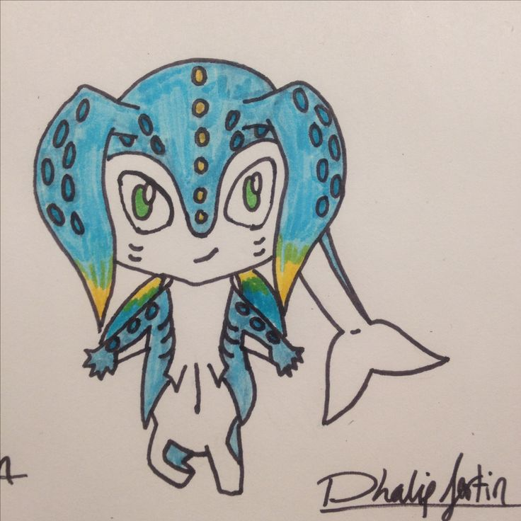Zora drawing by Dhalie Fortin