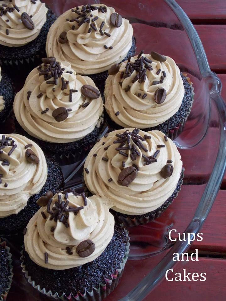 Mokka-csokis cupcake