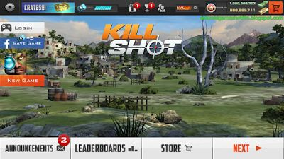 Kill Shot v3.4 Mod Apk (Unlimited Money / Gold) | latest android games mod apk 2016-2017