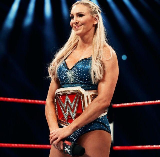 WWE Raw Woman's Champion Charlotte