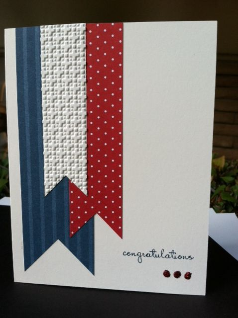 CASEd Loll Thompson's very clean and simple patriotic card from SCS:  http://www.splitcoaststampers.com/gallery/photo/2201402   ... this was a very quick and simple card