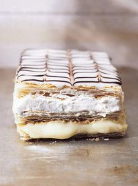 Millefeuille  Yesssssssssss :) :) :) :)   Love ricardo's recipes <3