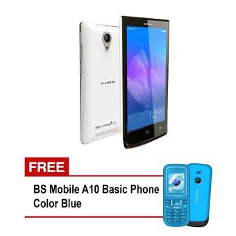 BS Mobile Funk 2GB (White) with Free BS Mobile A10 Basic Phone (Blue) #onlineshopping #lazadaph #lazadaphilippines #onlineshoppingphilippines