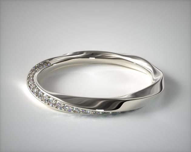 best 20 pave wedding bands ideas on antique