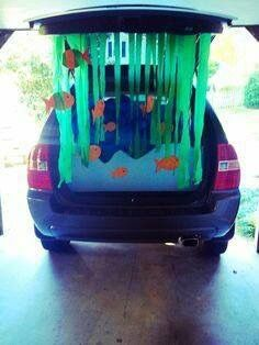 Trunk or Treat: Fish bowl