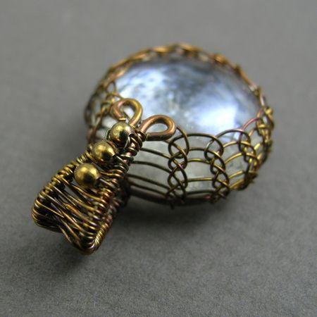 viking knit jewelry | YOJ09-06 Viking Knit Pendant | a wrapturous blog