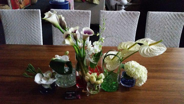 @Decorex2014 VIP Lounge table arrangements