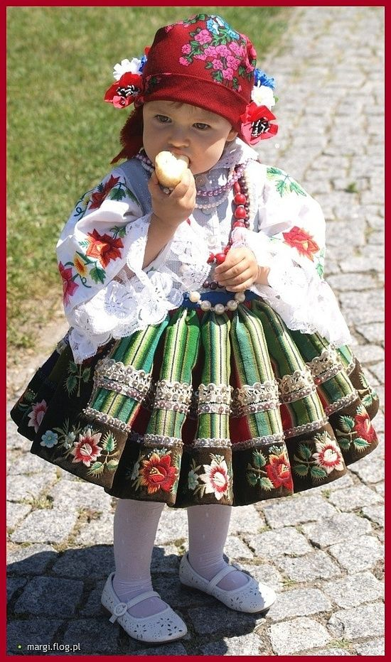 Lowicz Costume, Poland- I always wanted to have one of those :)