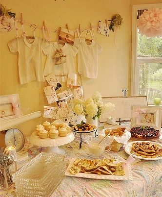 Vintage Themed Baby Shower Ideas | Disney Baby