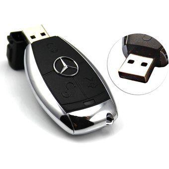 Memoria USB 2.0 8gb 16gb 32gb 64gb Auto Clave Pen Drive Para BENZ