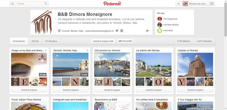 B and B Dimora Monsignore Profile on Pinterest; Bed and Breakfast in Termoli, Mosile, Italy