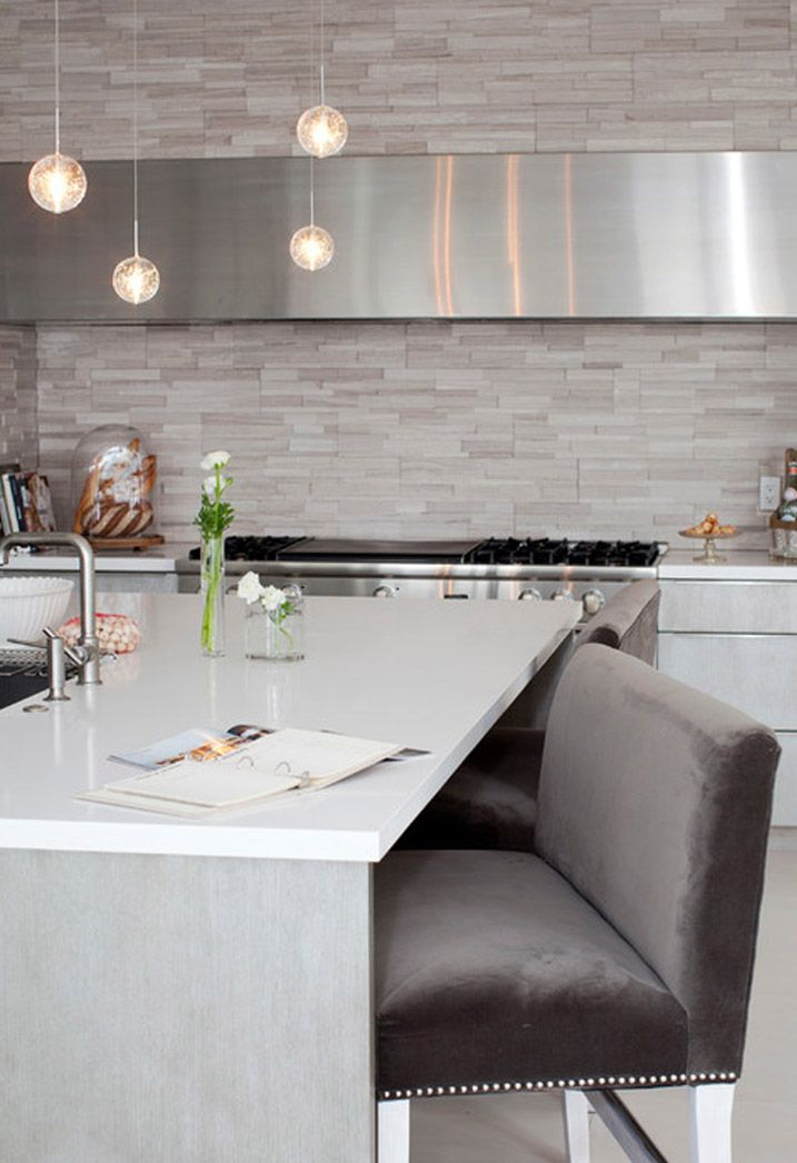 Achterwand in de keuken