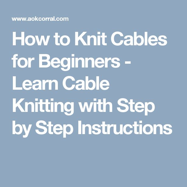 Knitting Patterns For Beginners Step By Step : Best sew easy knitting images on pinterest