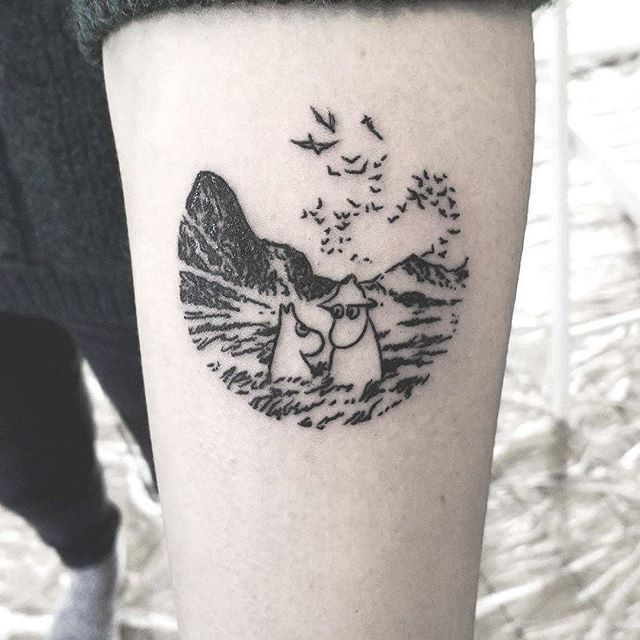 I'm always into making Moomins tattoos! Thanks Agata for your visit and trust with your first tattoo <3    #tattoo #tattoos #tatouage #warszawa #toulouse #blackwork #blackworkers #illustration #drawing #art #ink #blxckink #inkstinctsubmission #blackworkerssubmission #moomin #moomins