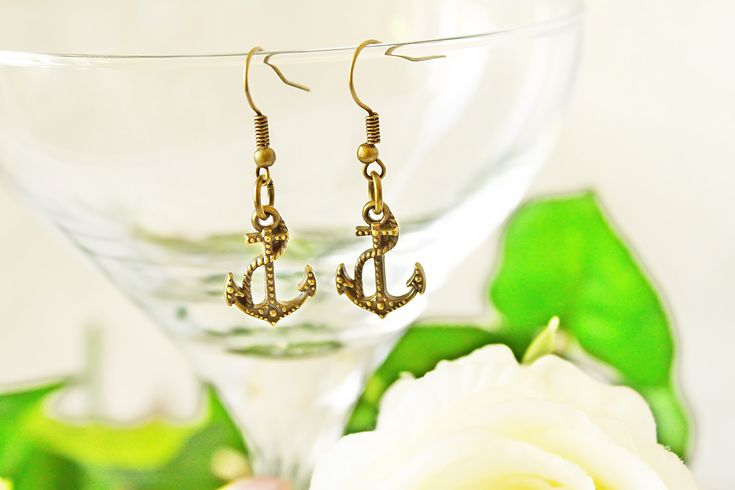 Summer is coming. Give pleasure and happy a present. This Beach anchor earrings you can find here: https://www.etsy.com/listing/569748764/jewelry-handmade-metal-jewelry-bohemian?ref=shop_home_active_10