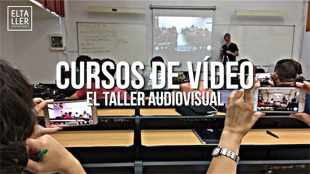 Aprende a grabar y editar con tu móvil en los cursos de vídeo de los pioneros del vídeo móvil en español, elTallerAudiovisual.