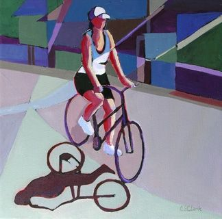 17 best images about carolee clark on pinterest urban for Bicycle painting near me