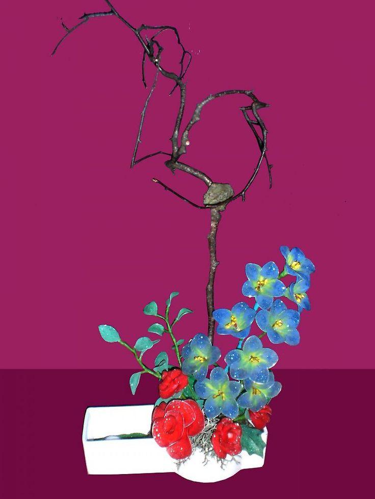 Nylon bloemen - 50plusser.nl