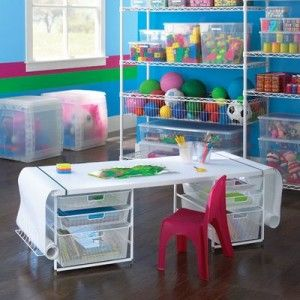 Storage Kids Room on Kids Room Storage Ideas With New Neat Ideas   Designs Ideas And. wire shelves  baskets