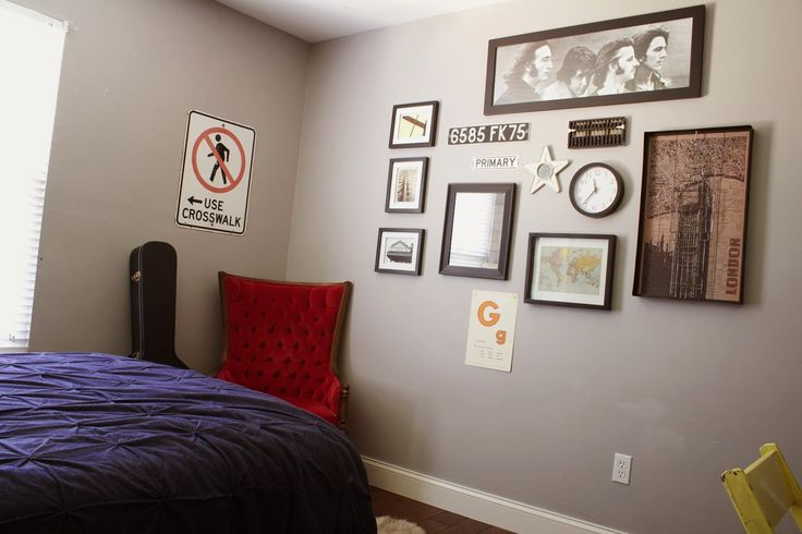WELCOME! : Teen Boy Room: Vintage Industrial Style Updates and Ideas