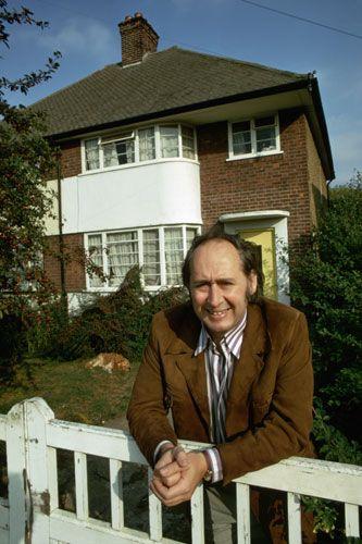 Bea Ballard on her father, J.G.Ballard 1970: JG Ballard outside the house in Shepperton, Surrey. Photograph: David Reed/Corbis