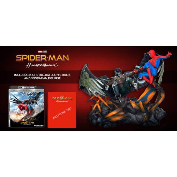 [ $197.99 ] Spider-Man Homecoming - 4K Ultra HD - Figurine + Comic Book Blu-ray http://n.actionpay.ru/click/57fe8cfe8b30a8566e8b456c/146388/subaccount/url=https%3A%2F%2Fus.zavvi.com%2Fblu-ray%2Fspider-man-homecoming-4k-ultra-hd-figurine-comic-book%2F11500015.html