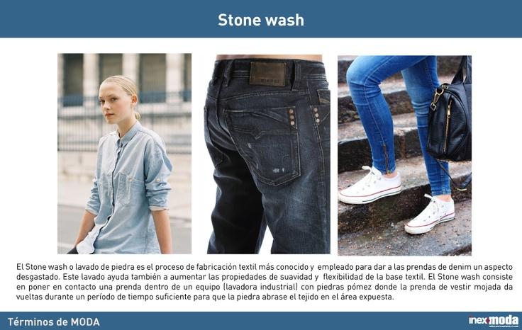 Términos de Moda Inexmoda: procesos de lavandería en Denim