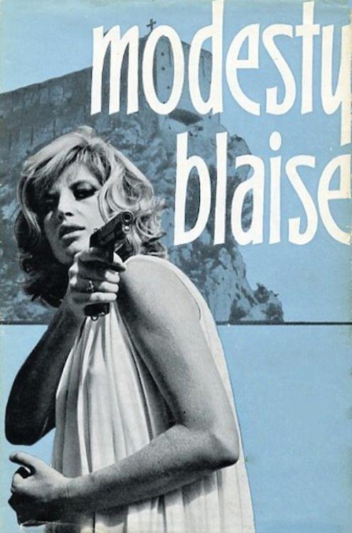 Monica Vitti - Modesty blaise, 1965.