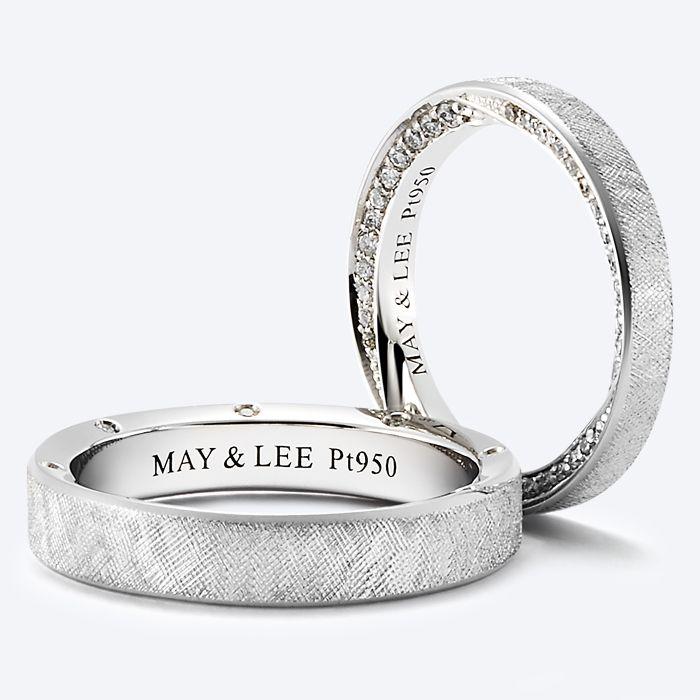 MAY&LEE COUPLE RING - 메이앤리주얼리뮤지엄